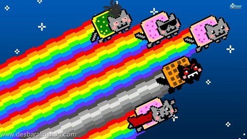 nyan cat wallpaper meme desbaratinando (4)
