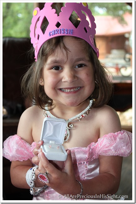 Chrissie's princess party and surgery 185