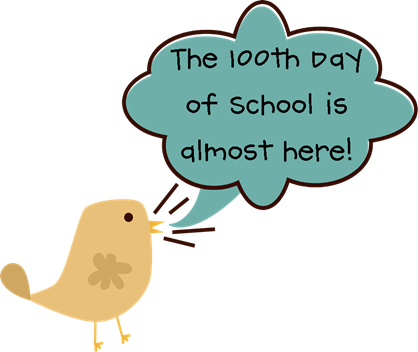 100th Day of School Clipart 100th Day of School