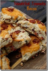Sundried Tomato & Bacon Scones