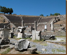 pergamon, theatre at Asklepion
