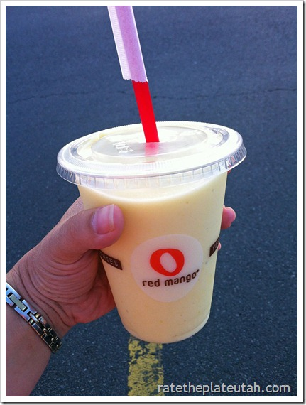 Red Mango Tropical Mango Smoothie