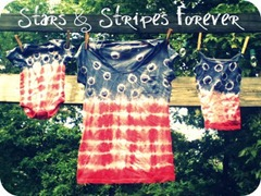 stars and stripes tee tutorial