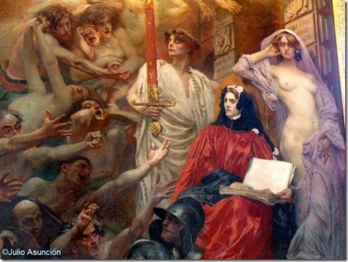 La Ley  La Justici y la Verdad - Capitolio - Sala de los Ilustres - Toulouse