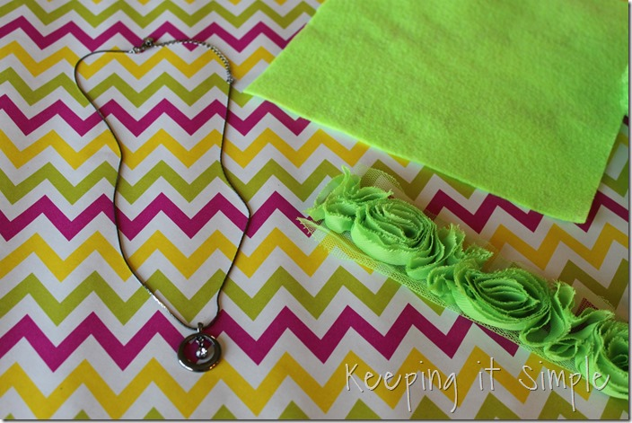 Rose Trim Necklace (1)