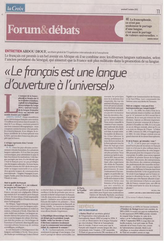 Organisation de la francophonie