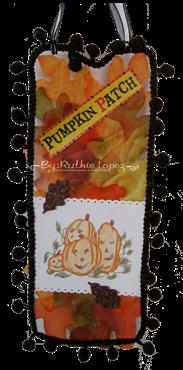 Jackson's Digital Expressions - Pumpkin image - Door hanger