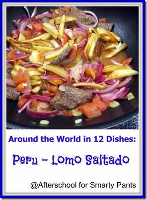 A Peruvian Recipe - Lomo Saltado