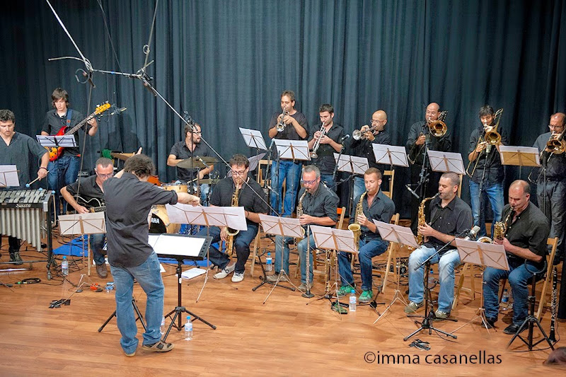 Àlex Cassanyes Big Band Project, Auditori de l'EMMDC, Vilafranca 2014