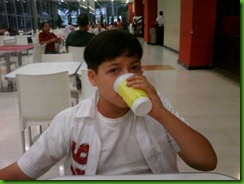 Almoço no Shopping