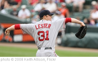 'Jon Lester pitching' photo (c) 2008, Keith Allison - license: http://creativecommons.org/licenses/by-sa/2.0/