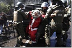Santa-Arrested