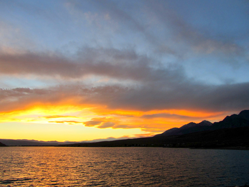 Mackay Reservoir Sunset