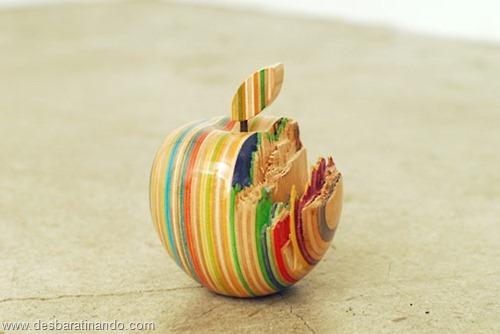 arte esculturas com skate reciclado desbaratinando  (2)