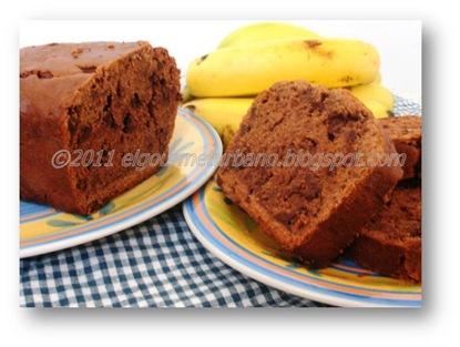 susana rivas - Ponqué de cambur y chocolate (1)