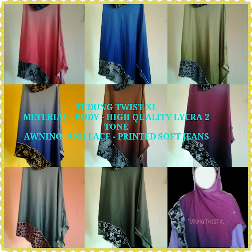 TUDUNG XL TWIST - XL