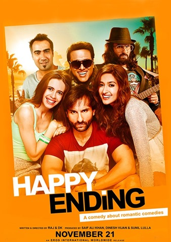 Happy Ending Movie HD Poster For Free