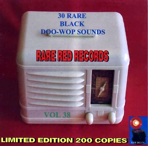 Rare Black Doo-Wop Sounds Vol. 38 - 31 - Front
