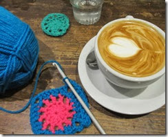 coffee crochet chat