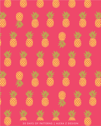 pineapple - Alexa Z Design pattern