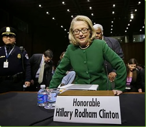 seating the honorable hillary clinton
