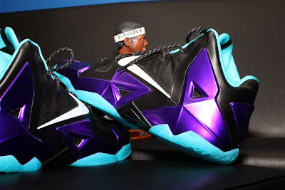 nike lebron 11 id production hornets 1 03 NIKEiD LeBron 11 Summit Lake Hornets Build by PPumper