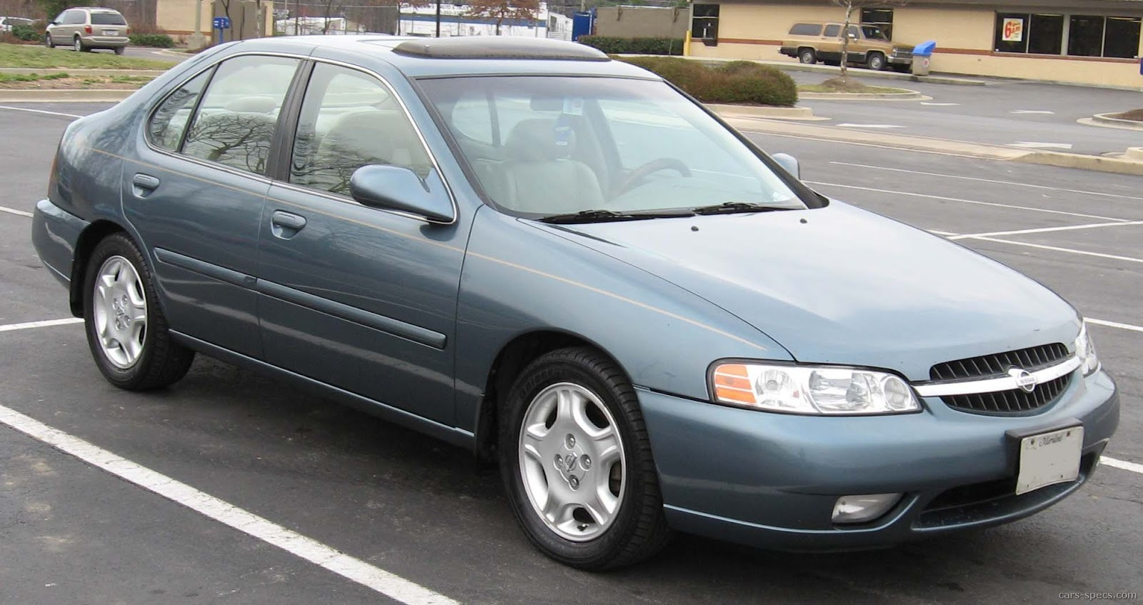 2000 Nissan altima gxe specifications #7