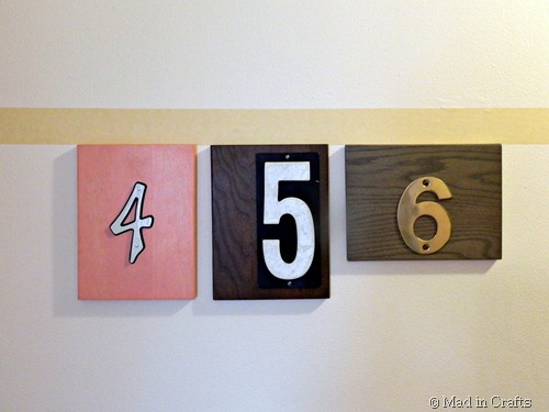 use painters tape to hang straight
