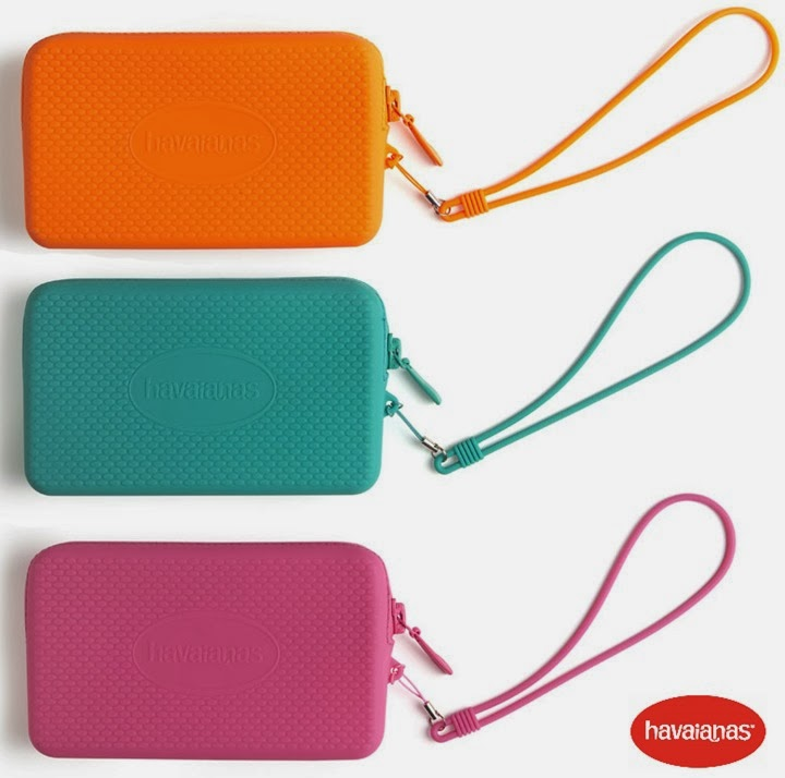 havaianas bolsa clutch mini bag borracha