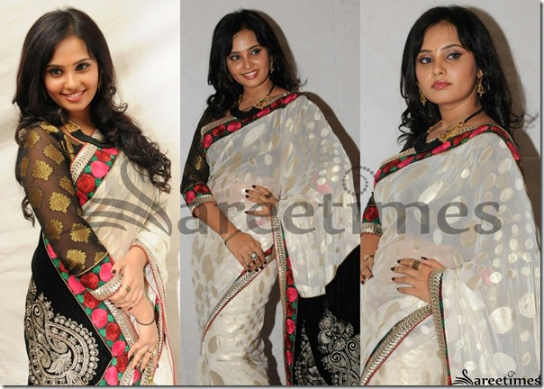 Aarushi_White_Saree
