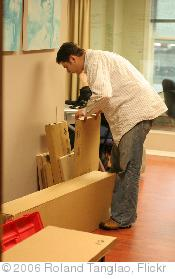 'Assemble Now Martin makes Ikea at Bryght 31Jan06 - 3.JPG' photo (c) 2006, Roland Tanglao - license: http://creativecommons.org/licenses/by/2.0/