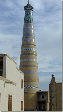 minaret khiva2
