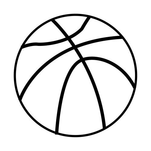 Lujoso Bola De Baloncesto Para Colorear Elaboración - Páginas Para ...
