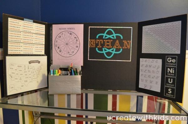 Tri-fold Homework Station 13