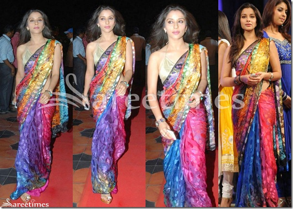 Madhurima_Multicolor_Saree