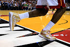 lebron james nba 121030 mia at bos 13 LeBron Sports Championship Gold LBJ X in Miami Heat Opener
