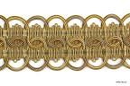 Szeroka taśma ozdobna do dekoracji mebli i tkanin.