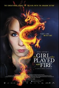 The Girl who Played with Fire - poster