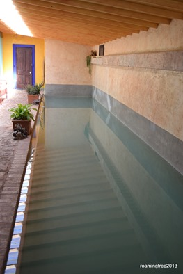 The lap pool