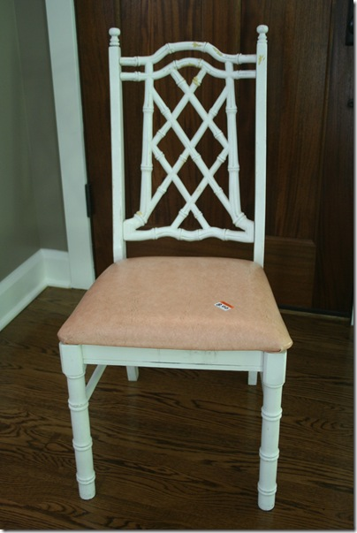 Chair upcycle 001