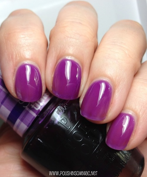Radiant Orchid Nail Polish - OPI Don't Violet Me Down