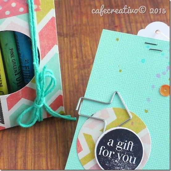 cafecreativo - big shot sizzix - packaging - scatolina