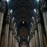 inside duomo in Milan, Milano, Italy