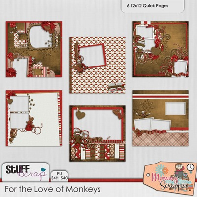 For the Love of Monkeys - Quickpages