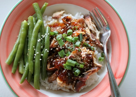 crockpot sesame chicken 1