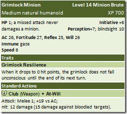 14-Grimlock Minion