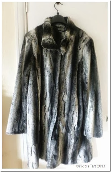 Roman Originals Fur Coat  from Roman Originals