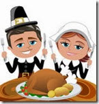 happy-cartoon-pilgrims-eating-roast-turkey-illustration-featuring-bob-meg-sitting-table-ready-to-eat-knife-fork-34647054[1]