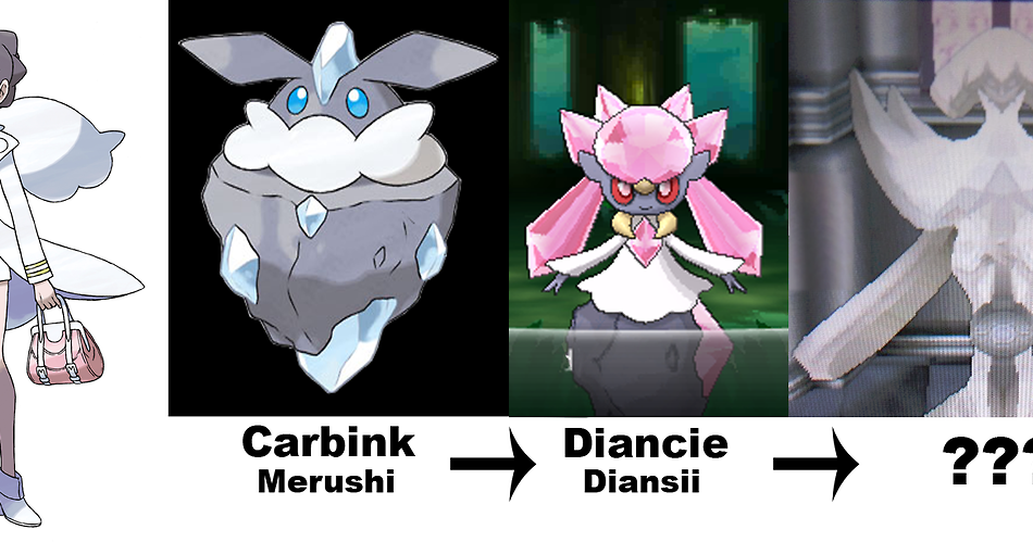 Pokémon Clash: Pokémon X and Y : Carbink Evolves in Diancie?
