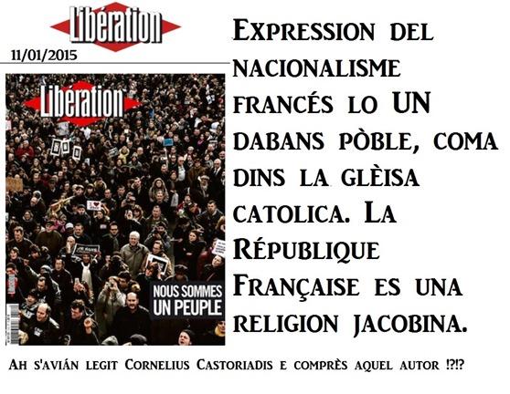 nacionalisme francés Libération